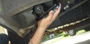 GPS nyomkövető készülék mágneses elhelyezése: